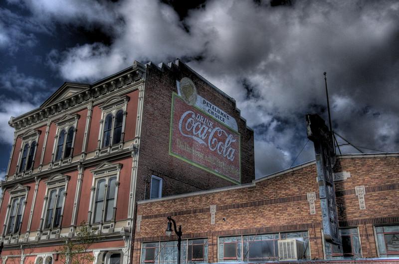 The Petaluma Coke Mural