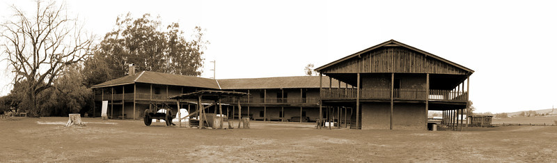 The Petaluma Old Adobe