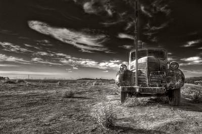 Old Dodge Truck in Petaluma, CA