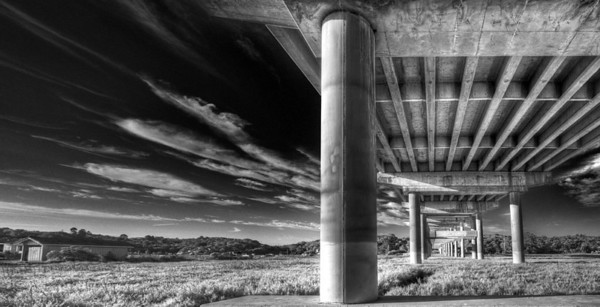 Beneath the Freeway in Petaluma, CA