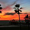 """""""Quiet Skies"""".  Manhattan Beach Pier, Manhattan Beach, CA"""