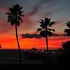"""November Twilight"".  Manhattan Beach Pier, Manhattan Beach, CA"