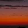 """""""Crescent Moon at Sunset"""". 4/15/10<br /> Awarded """"Approver's Choice"""" on Weatherunderground.com, April 2010."""