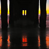 """Before Dark"". Underneath the Manhattan Beach Pier."