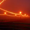 """""""Holiday Fog"""". Manhattan Beach Pier, Manhattan Beach, CA"""