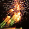 """Fire Streams"". Manhattan Beach Holiday Fireworks Festival 2009, Manhattan Beach, CA"