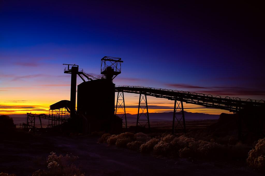 Sunset; Marblehead @ West Desert, Utah