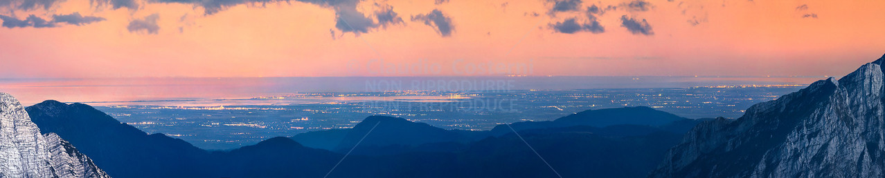 Notturno con luna dal Mangart  - foto n° 090807-628297