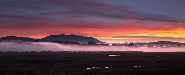 sunrise in inverness, ca