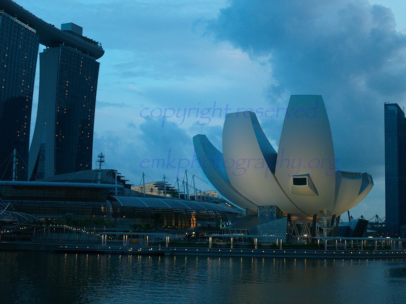 Singapore Marina Bay Sands Esplanade