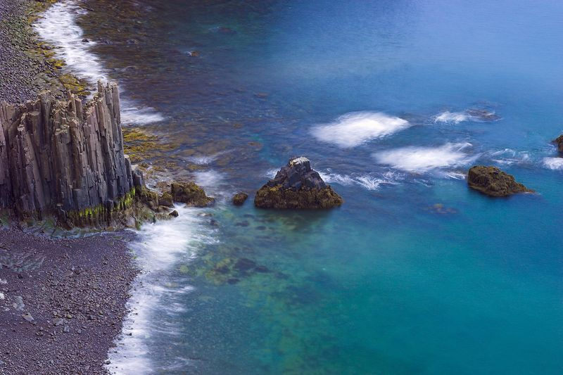Cliffs and shore, Grand Manan Island