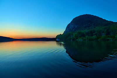 The Pinnacle at Sunset, in Baldwin Mills, Quebec