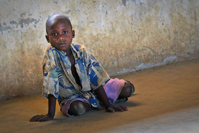 School boy in Masaka, Uganda.