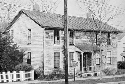 The Markle House at 114 Linn Street, Ithaca, NY ca 1957 (since demolished)