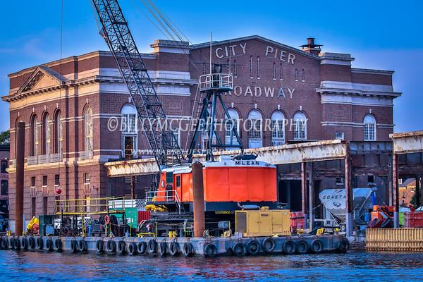 Baltimore City Pier- 17 Aug 2015