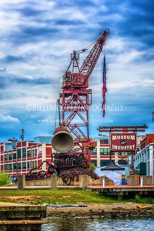 Baltimore Industrial Landscape - 07 Aug 2015