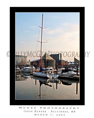 Baltimore Inner Harbor - 07 Mar 2009