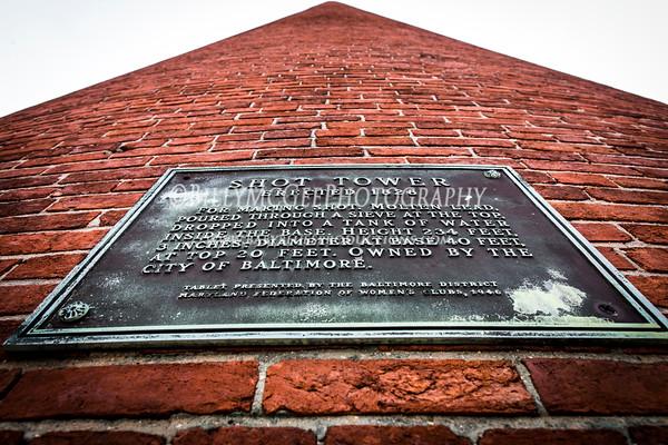 Baltimore Shot Tower - 10 Feb 2013