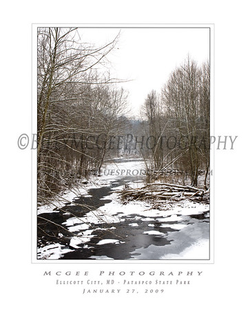 Ellicott City - Upper Hills - 27 Jan 2009
