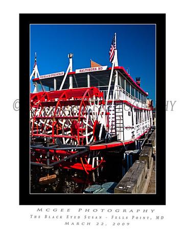 Fells Point Boats - 22 Mar 2009