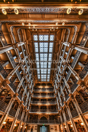 George Peabody Library - Peabody Conservatory Institute - 30 Sep 2015
