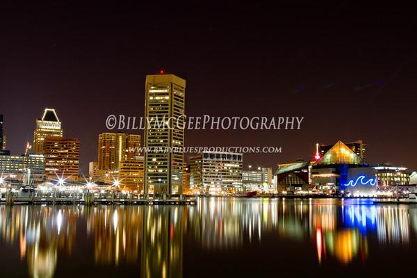 Inner Harbor Night Photography - 28 Mar 2011