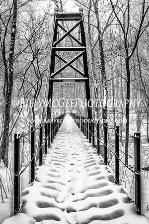 Patapsco Park In the Snow - 21 Feb 2015