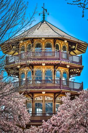 Patterson Park Pagoda - 18 Apr 2015