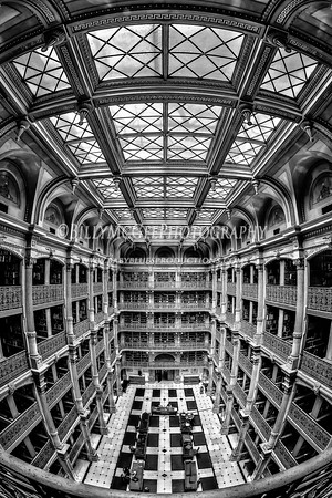 Peabody Library - Mt. Vernon Place - 27 Mar 2013
