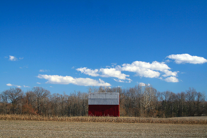 Simple Barn Landscape