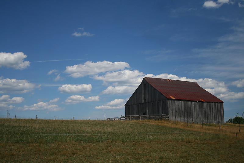 Clagett Farm Tobacco Barn