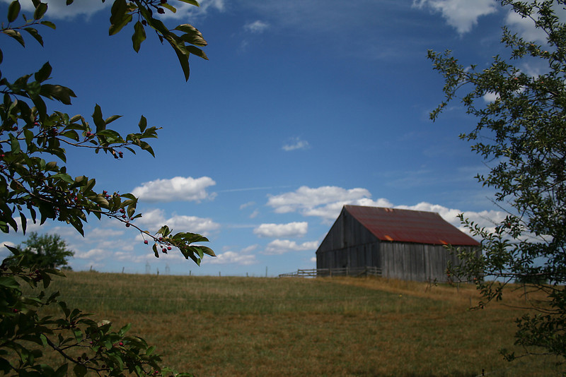 Clagett Farm Tobacco Barn