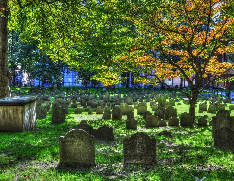 Old Granary Burying Ground