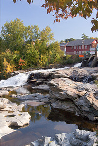 the Falls at Shelburne Falls