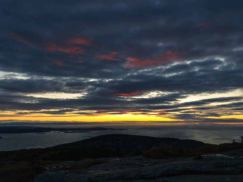 Cadillac Mountain Sunrise - Acadia NP - Maine<br /> iPhone photo