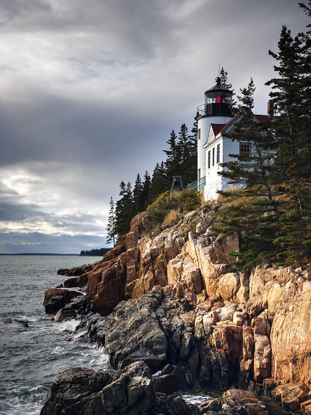 Bass Harbor Head Lighthouse - Acadia NP - Maine<br /> iPhone photo