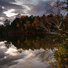 Togue Pond Dusk - Baxter State Park - Maine<br /> iPhone photo