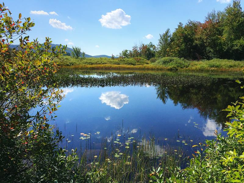 Lewey Lake Cloud - The Adirondacks, NY<br /> (iPhone Photo)