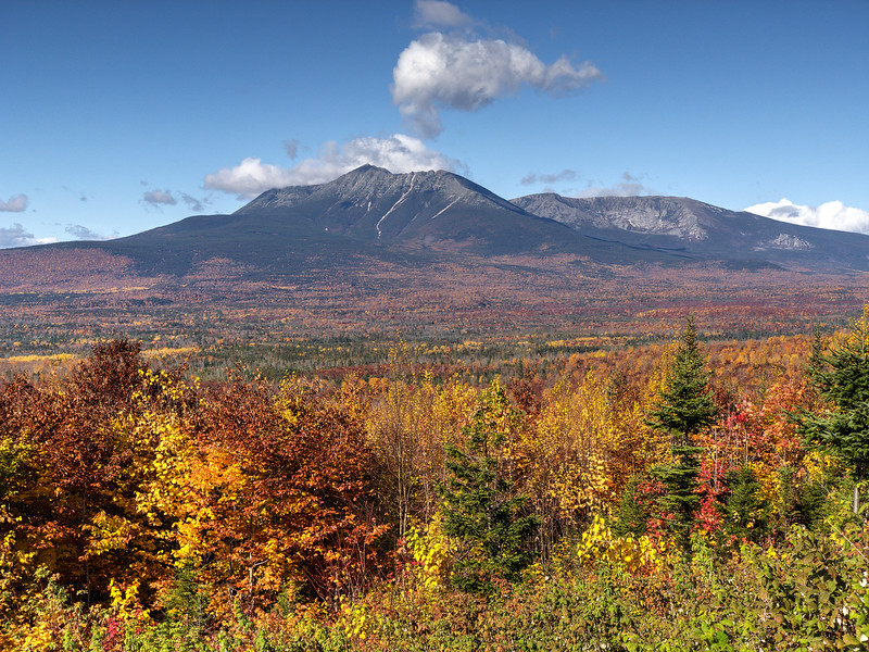Mount Katahdin from Katahdin Woods & Waters National Monument - Maine<br /> iPhone photo