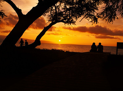 Maui Sunsets Are Much Like Love, Ever Changing, Always Captivating, And Always There.