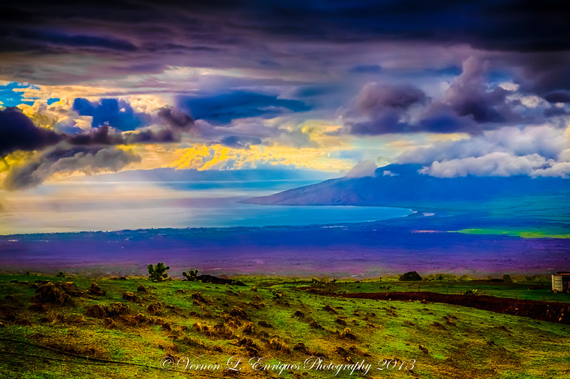 Maui, Hawaii   Shot from Road to Kula Hwy 37