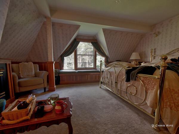 Our room at the Elk Cove Inn B&B