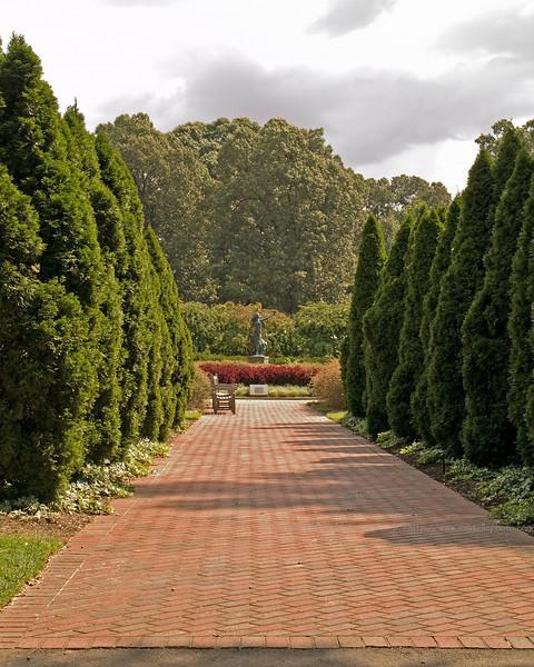 Entrance to the Iris Garden