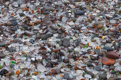 Sea Glass Beach in Fort Bragg, CA