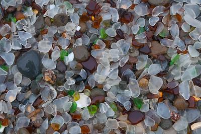 Sea Glass Beach in Fort Bragg, CA