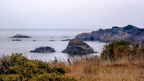 The Pacific Coast near Elk, CA