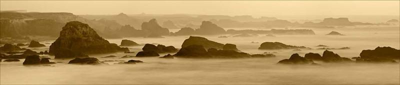 Sea Stacks Along the Northern California Coast