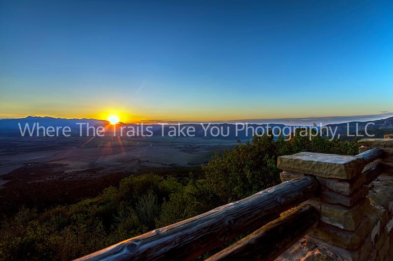 48.  A Mancos Valley Sunrise