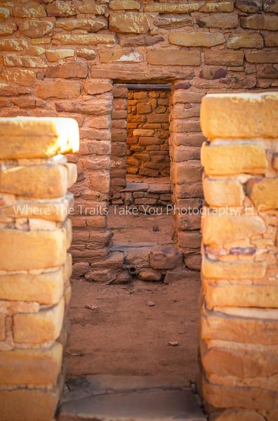 14.  Morning Light Through The Door Openings