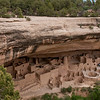 This is Cliff Palace.  It is the largest cliff dwelling and much easier access via ranger led tours.